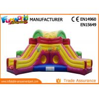 Buy cheap Mega Obstacle Course Inflatable Amusement Park Playground / Inflatable Fun City product