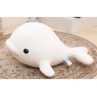 Girly gift 35CM Fill Foam particles Custom Stuffed Toys White dolphin dolphin Manufactures