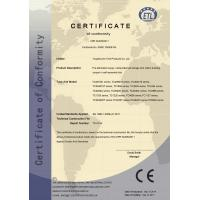 ToughCover Tent Products Co., Ltd Certifications