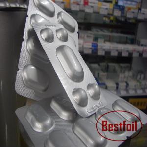 China Pharmaceutical packaging aluminum base foil alu alu blister on sale