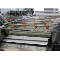 Wholesale 1000 - 2200mm Fruit Cleaner Machine , High Efficiency Food Processing Machine from china suppliers