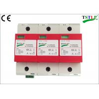Buy cheap 40kA Mov Type Lightning Surge Arrester Class 1 For Distribution Room / Cabinet from wholesalers
