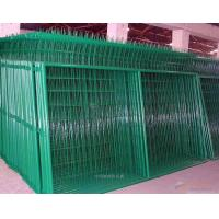 Buy cheap Industrial Green Metal Mesh Fencing / PVC coat Welded Mesh Fence Panels from wholesalers
