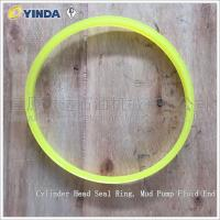 Wholesale Cylinder Head Mud Pump Rubber O Ring Seals , Rubber Sealing Ring AH36001-05.08 from china suppliers