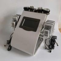 Buy cheap 8.4 LCD Touch Screen Laser Lipo Cavitation Machine Frequency 5MHz 100KPA Pressure from wholesalers