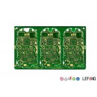 Wholesale Gold Plating PCB Remote Control Car Circuit Board Green Solder Mask 1.6 Mm Thickness from china suppliers