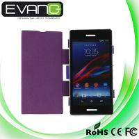 Buy cheap 3200mAh Purple Portable External Backup Battery Flip Cover Case for Sony Xperia Z1 L39h Ne from wholesalers