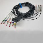 Buy cheap 4mm Minigrabber Test Clip To Banana Plug , Medical EKG Leads For Schiller from wholesalers