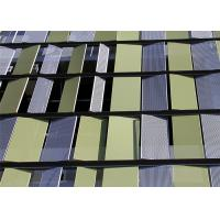 Buy cheap Architectural Perforated Metal Wall Cladding Panels with Aluminum or Galvanized Steel from wholesalers