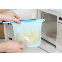 Buy cheap Large capacity green kitchen food FDA  Silicone preservation bag from wholesalers