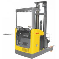 Buy cheap Narrow Aisle Reach Truck Forklift 1.5 Ton Seated Type For Warehouses / Supermarkets from wholesalers