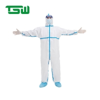 Buy cheap Hospital Sterile Nonwoven Disposable Isolation Clothing from wholesalers