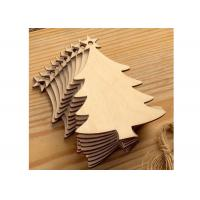 Buy cheap Creative Wood Anniversary Gifts Christmas Tree For Holiday / Party / Home Decoration from wholesalers