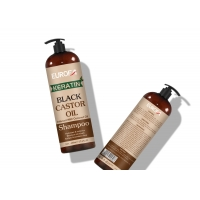 Buy cheap Hair Nourishing Shampoo With Black Castor Oil Use For All Type Hair Damage Wavy Hair from wholesalers