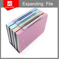 Buy cheap Large capacity 24 pockets handmade expanding file folder with pp dividers from wholesalers