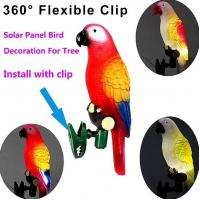 Buy cheap Solar Powered Lights For Yard, IP44 Waterproof Parrot LED Road Light with Clip from wholesalers