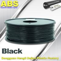 Wholesale Black 1.75mm /3.0mm 3D Printer Filament , Ultimaker 3D Printer Consumables ABS Filament from china suppliers