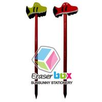 Buy cheap SET018 Sport shaped multicolor pencil topper TPR art eraser, pencil eraser toppers from wholesalers
