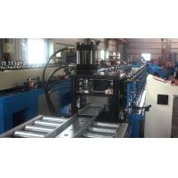 Buy cheap PLC control Automatic Zinc Steel  Roll Forming Equipment Line For Smoke Damper Product from wholesalers