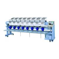 Buy cheap 4 6 8 Head Small Computer Embroidery Machine High Speed For Flat Cap T Shirt from wholesalers