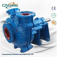 Buy cheap 6 / 4 D - AH Metal Slurry Pump Horizontal Type Heavy Duty  for Quarries Quality Made in China from wholesalers