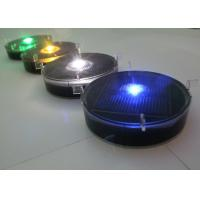 Wholesale Flashing Solar Delineator Embedded Traffic Lane Markers Anti - Pressured from china suppliers