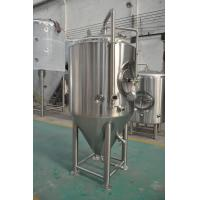 Jacketed Stainless Steel Beer Fermenter , Micro Brewery Equipment For Beer Fermenting Manufactures