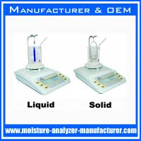 Buy cheap liquid solid densitometers balance specific gravity instrument from wholesalers