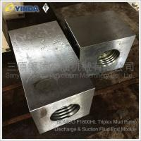 Wholesale Discharge Suction Fluid End Module Triplex Mud Pump AH160201010400 Bomco F-1600HL from china suppliers