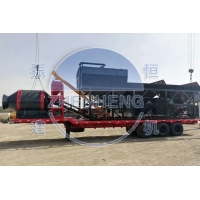 Quality Precast Cement Sand 35m3 Concrete Mixing Plant Mobile Drum Mix Plant for sale