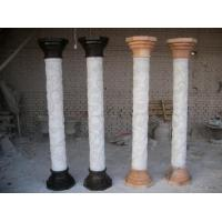 Wholesale White Natural Stone Roman Pillar from china suppliers