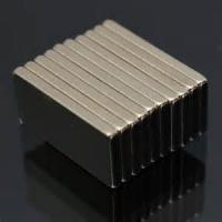 Buy cheap Sintered ndfeb magnets Block ndfeb magnet 25x10x2mm thin magnet from wholesalers