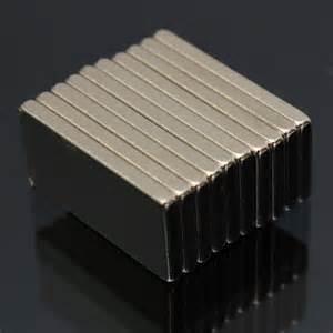 China N52 F29x6.5x2.5mm Customized Super Strong Rare Earth Block  Neodymium Magnet Bar on sale