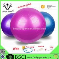Buy cheap Anti Burst Yoga Gym Exercise Ball With Excellent Slip Resistance PVC Material from wholesalers