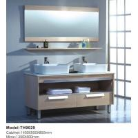 Buy cheap Hot Double Sink Bathroom Cabinet TH9029 from wholesalers