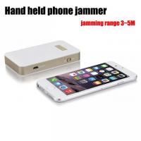 Wholesale 1.5W Short Range Handheld Cell Phone Jammer , Personal Cell Phone Blocker Device from china suppliers