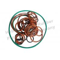 Buy cheap High Temperature Silicone O Rings Red Black Green Brown Color from wholesalers