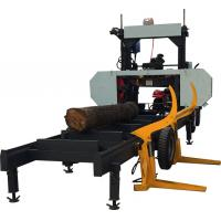 Buy cheap Cheap Price Portable Horizontal Wood Cutting Band Saw Machine With Petrol Or Diesel Engine from wholesalers