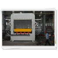 Multi layer Melamine Veneer Hot Press Machine Laminates With Dual Cycle Manufactures