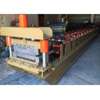 Buy cheap 460 Standing Seam Roll Forming Machine , Profile Roofing Sheet Making Machine India Design from wholesalers