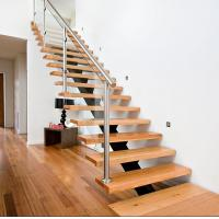 Wholesale Top designer decorative staircase/indoor wooden straight staircase from china suppliers