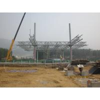Prefabricate Steel Pipe Truss , Structural Steel Pipes Manufactures
