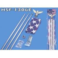 Buy cheap 3 Pieces 6 FT Steel Flagpole from wholesalers