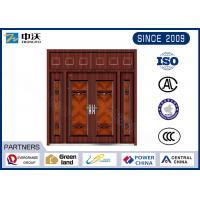 Wholesale Guard Against Theft Fireproof Entry Doors With Door Viewer High Strength from china suppliers