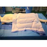 Buy cheap Patient Surgical Warming Blanket Lower Body Forced - Air 102*120 cm Blue White from wholesalers