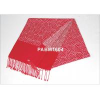 Buy cheap 2013 New Red Pattern 100 % Silk Woven Silk Scarf Comfortable from wholesalers