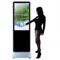 Buy cheap Touch Screen Floor Standing Kiosk With Integrated Android IOS Player from wholesalers