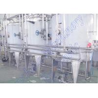 Buy cheap Auto CIP Cleaning System Juice Processing Equipment Cleaning Working 3000L/H from wholesalers