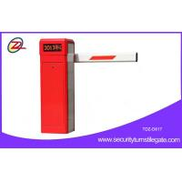 Anti collision Automatic Parking Barrier Arm Gates / Boom Barrier Gate Manufactures
