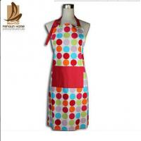 Custom Colored Home Cooking Cotton Kitchen Apron 70 x 80cm 250gsm Bbq Apron Manufactures
